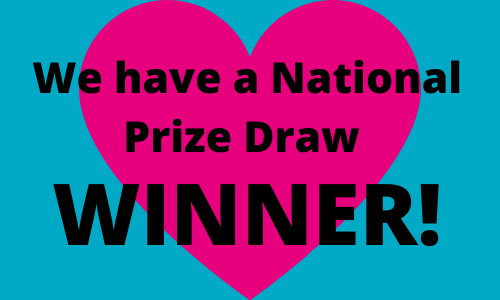 Congratulations to the Winner of the Summer National Prize Draw 2020!